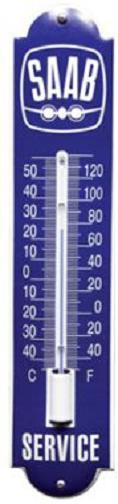 Saab Thermometer 6,5 x 30 cm.