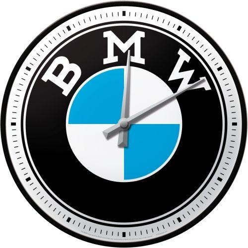 BMW.   Wandklok Ø 31 cm.