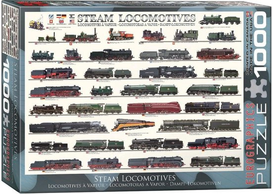 Steam Locomotives (1000)