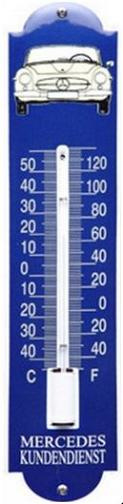 Mercedes Kundendienst  Thermometer 6,5 x 30 cm
