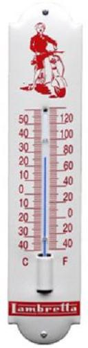 Lambretta Thermometer 6,5 x 30 cm.