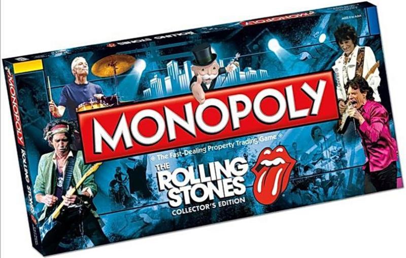 Rolling Stones Monopoly.