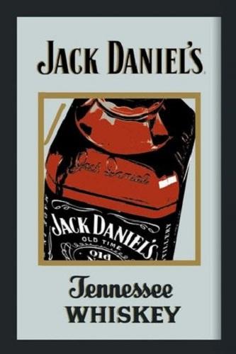 Jack Daniel's.  Spiegel 22 x 32 cm.