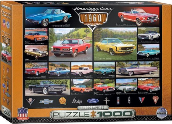 American Cars of the 1960s (1000)