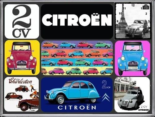 Citroën 2CV Magneet set