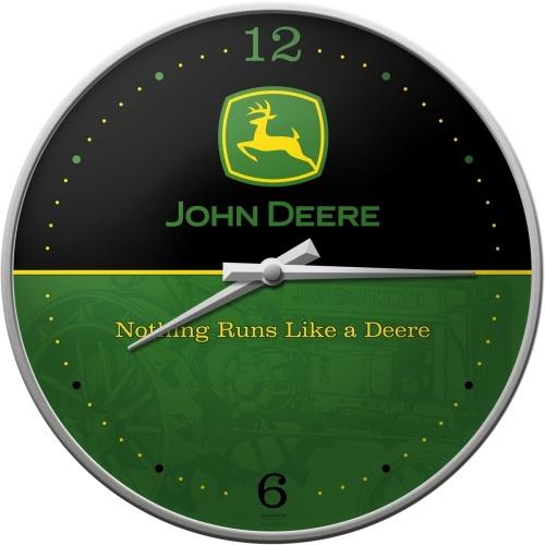 John Deere Nothing runs like a DeereWandklok 31 cm