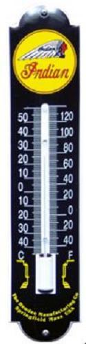 Indian Zwart Thermometer 6,5 x 30 cm.