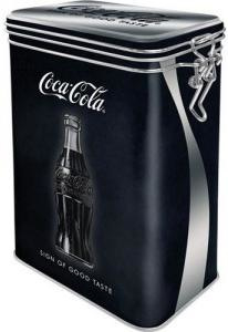 Coca Cola Sign Of Good Taste Bewaarblik. met beugelsluiting