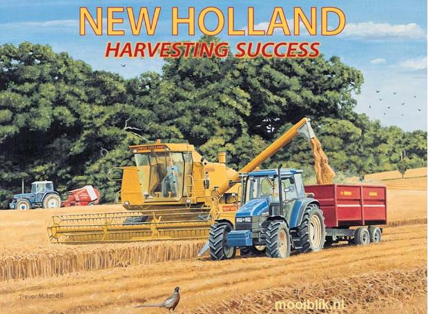 New Holland  Metalen wandbord 40 x 30 cm