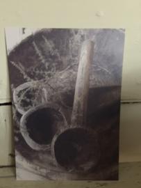 kaart lepels 21 x  15 cm