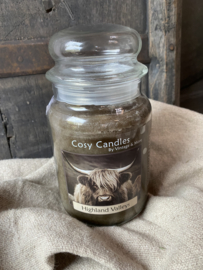 Cosy candles highland Valleys