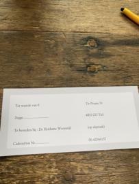 Kadobon twv 15 euro