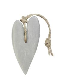 Zeep hart XL licht grijs Cotton mijn stijl
