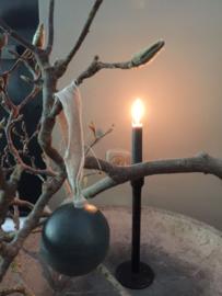 houten bal aan stoffen lus 7 cm