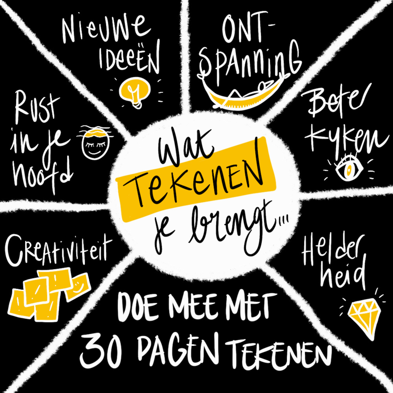 30 dagen tekenen - start 28 september 2020