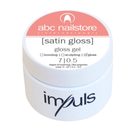 impuls satin gloss, gloss gel, 5g