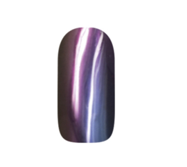 abc nailstore chrome powder flip flop violet-orange 2g