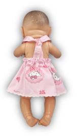 Halterjurkje voor Baby Born en de Paola Reina ( poppen van ± 45 cm)