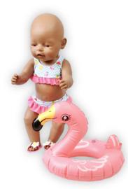 Zwemsetje voor de pop. Vanaf €7,95