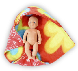Baby cape voor de aller, aller kleinste Baby Born (11 cm)