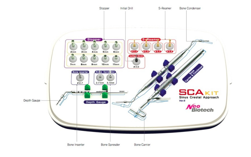 Sinus Crestal Approach Kit