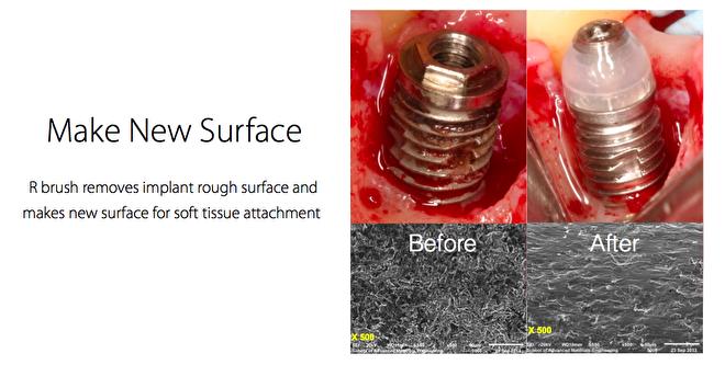 Make new surface