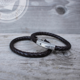I*H armbanden leather 'Milan'