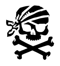 142 Jolly Roger sjabloon