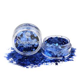 Chunky glitters Glamour Blue Mix