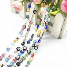 Porcelain Flower Beads ( 30 stuks )