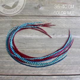 Feathers 35-40 cm pakket 10 stuks