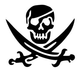 94 Skull Pirates sjabloon