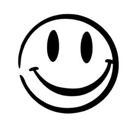 108 Smiley sjabloon