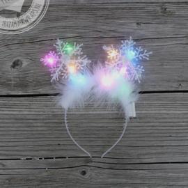 Snowflake Diadeems met LED lichtjes