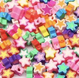 Polymer Star Colormix (50 stuks)