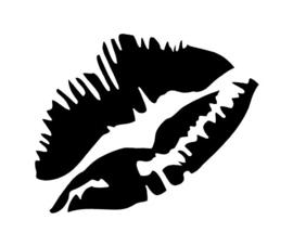 #52800 Kiss sjabloon