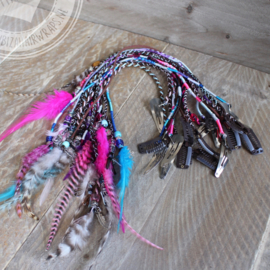 IBIZA Hairwraps clip-inn's