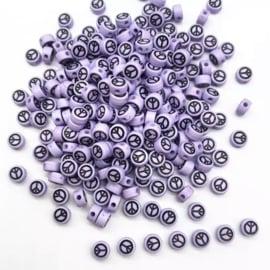 Acryl Lilac Peace (100 stuks)