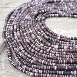 Shell Beads Natural Brown Mix
