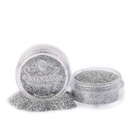 #100 Silver glitter