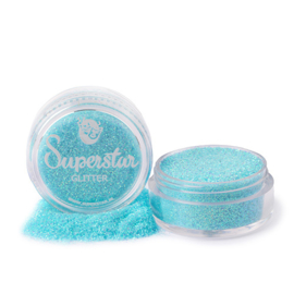 #454 Crystal water blue glitter