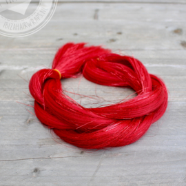 Vlecht Red hair/Red tinsels