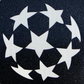 50 Voetbal 3 sjabloon