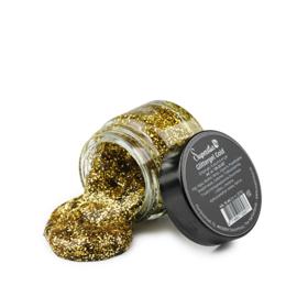 Glittergel Gold