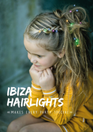 IBIZA Hairlights  'Blue'