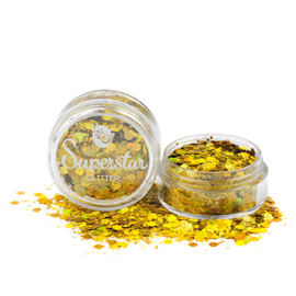 Chunky Glitters Laser Gold