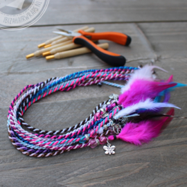 DIY pakket IBIZA Hairwraps  Originals Landal