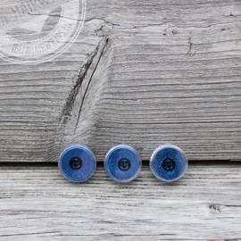 Fijne glitter Blue 2 ml set 3 stuks