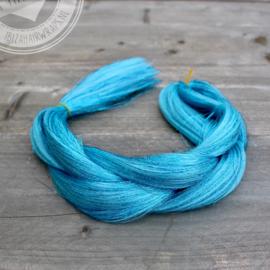 Vlecht Blue hair/ Blue tinsels