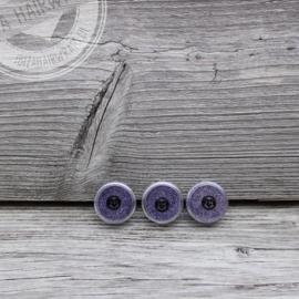 Fijne glitter Purple Lavender 2 ml set 3 stuks